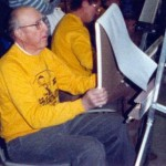 "Creig at the then ""Huntington Art League"" in the late 1980's."