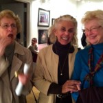 Gwen, Bunny Hoest and Mary reminisce.