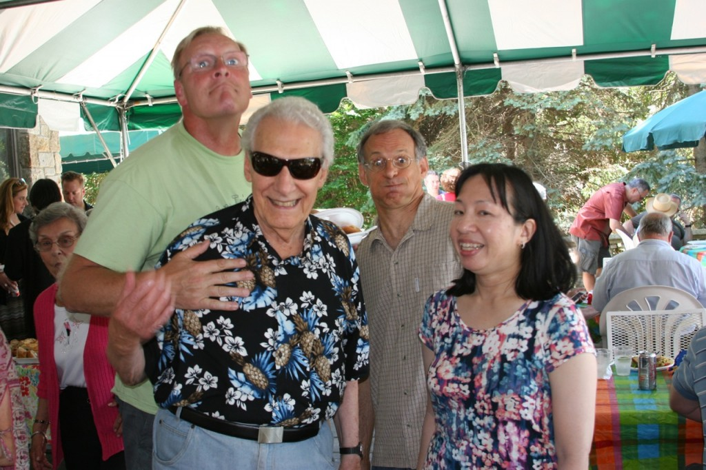 From Left: Jeff Fisher, Joe Giella, Joe Vissichelli, and Karen Moy.