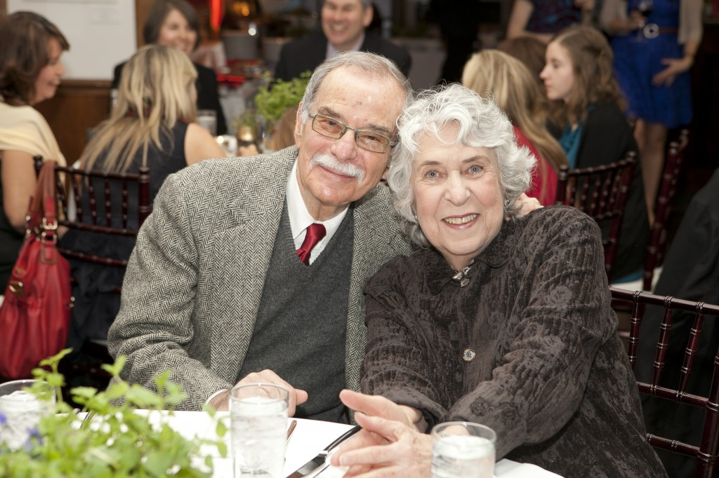 Stan and Pauline at our daughter's wedding reception last year.