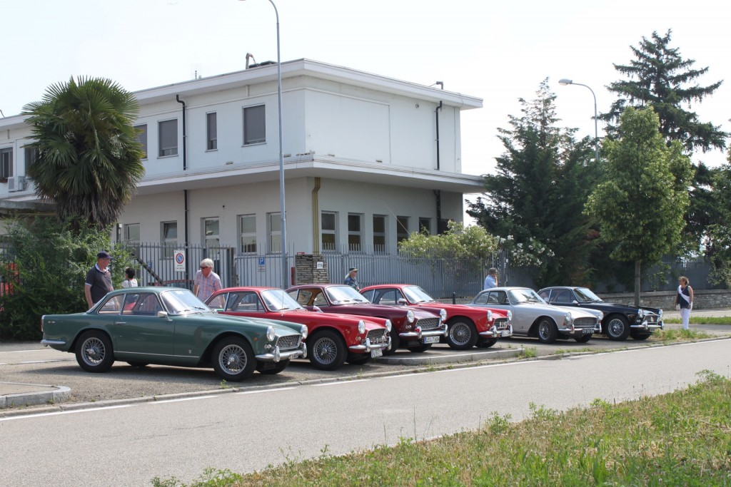 The Vignale factory, home for the Italia!